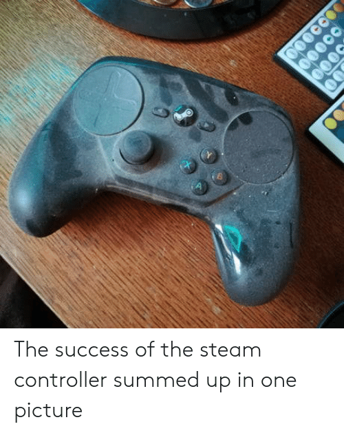 Summed Up: The success of the steam controller summed up in one picture