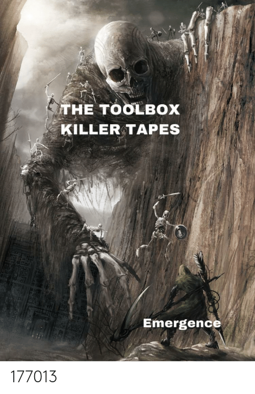Anime, Killer, and Toolbox: THE TOOLBOX  KILLER TAPES  Emergence 177013