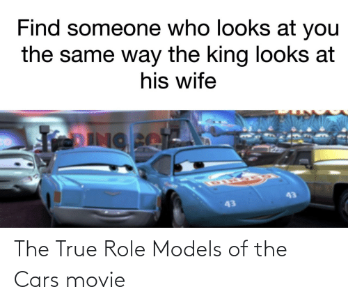 Role: The True Role Models of the Cars movie