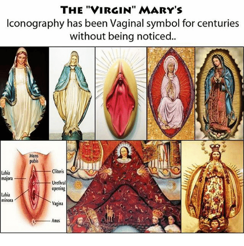 Designs virgin mary