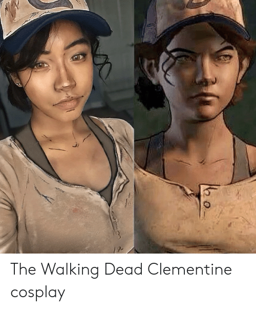 The Walking Dead: The Walking Dead Clementine cosplay