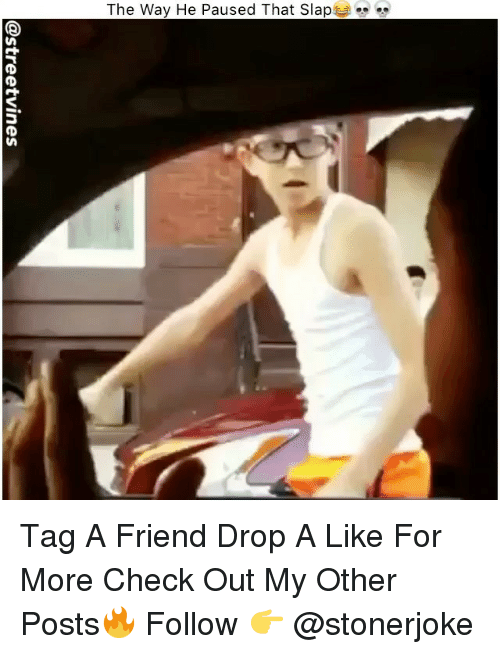 "Memes, 🤖, and Friend: The Way He Paused That Slap  "" Tag A Friend Drop A Like For More Check Out My Other Posts🔥 Follow 👉 @stonerjoke"