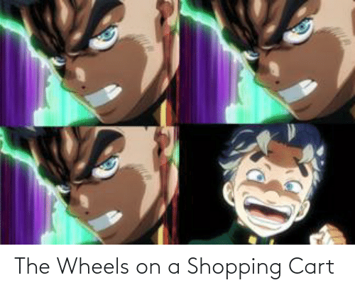 Shopping: The Wheels on a Shopping Cart