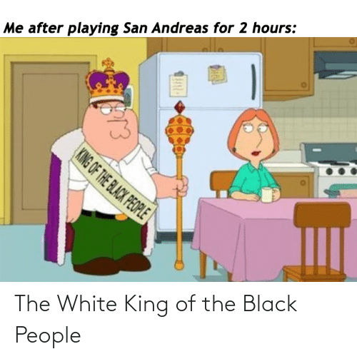 The Black People: The White King of the Black People