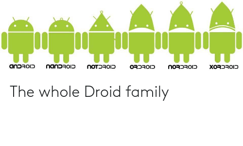 Whole: The whole Droid family