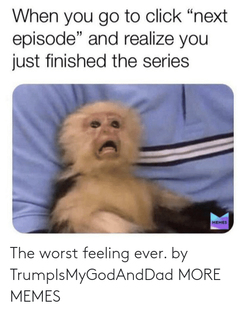 The Worst: The worst feeling ever. by TrumpIsMyGodAndDad MORE MEMES