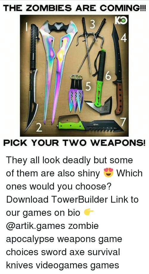 25 best memes about zombie apocalypse weapons zombie