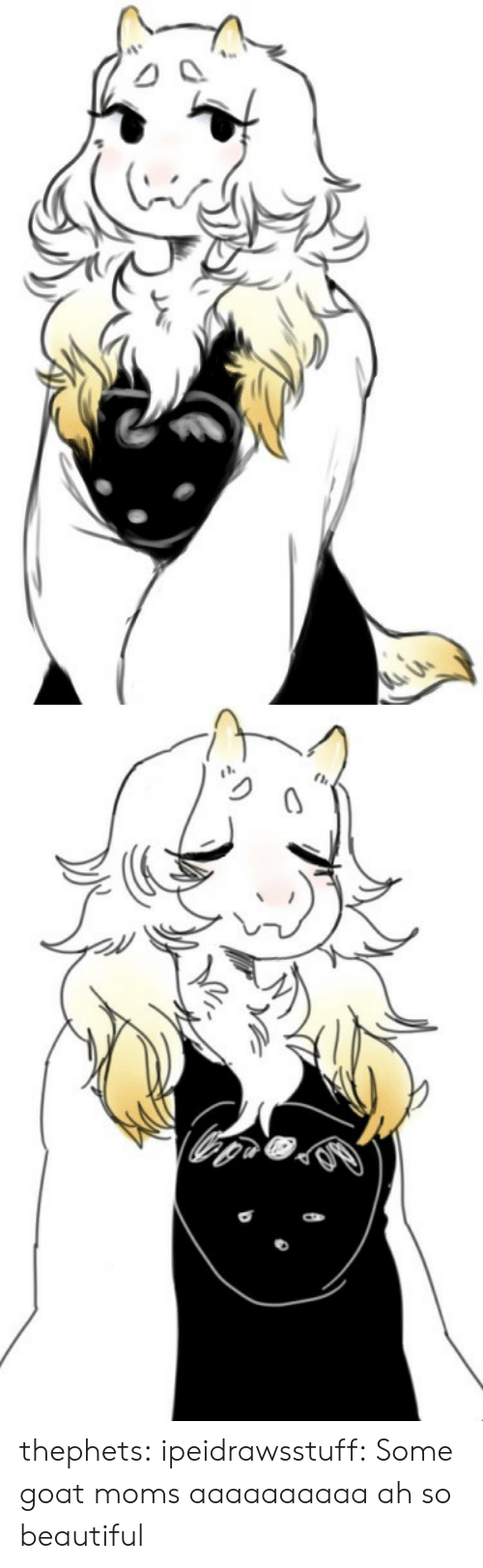 Aaaaaaaaaa: thephets:  ipeidrawsstuff:  Some goat moms aaaaaaaaaa  ah so beautiful