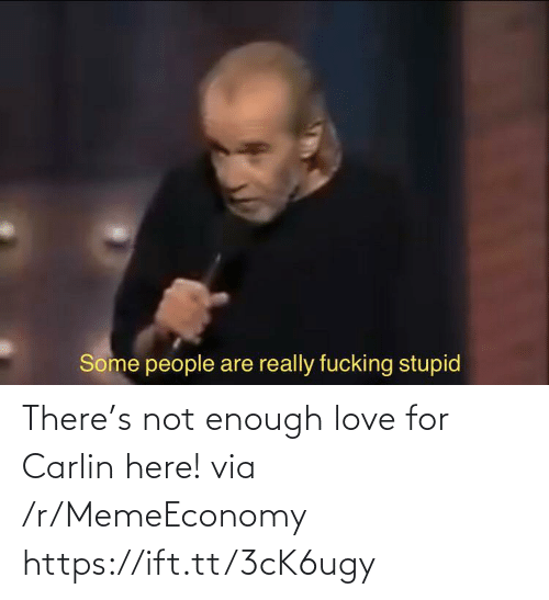 Https Ift: There's not enough love for Carlin here! via /r/MemeEconomy https://ift.tt/3cK6ugy