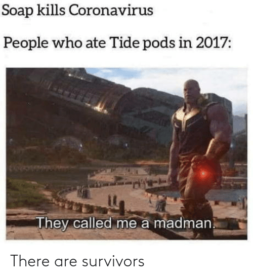 There Are: There are survivors