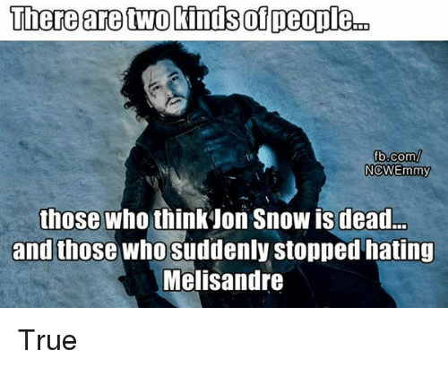 There Are Two Kinds Of Deopleco Fbcom Nowemmy Those Who Think Jon