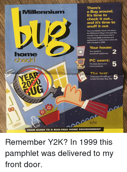 the causes and possible effects of the y2k millennium bug