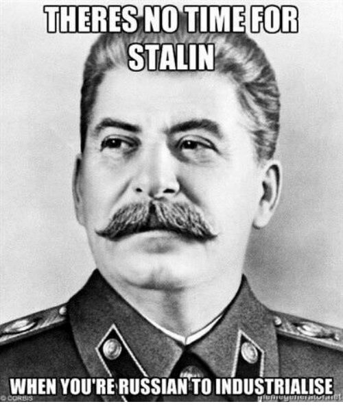 the contribution of joseph stalin to russias industrial system