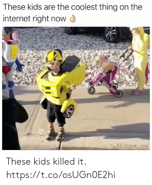 Coolest: These kids are the coolest thing on the  internet right now  IG: @davie dave These kids killed it. https://t.co/osUGn0E2hi