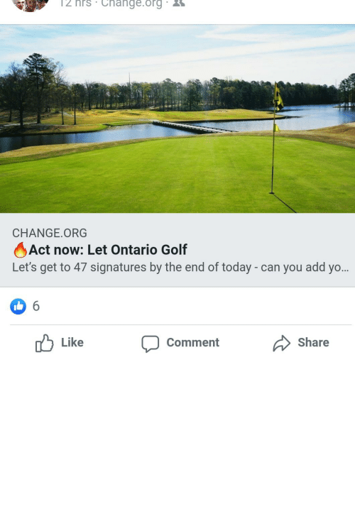 practicing: These people are convinced playing golf is practicing social distancing and think golf courses should remain open.