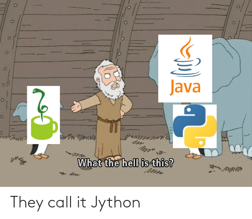 call: They call it Jython
