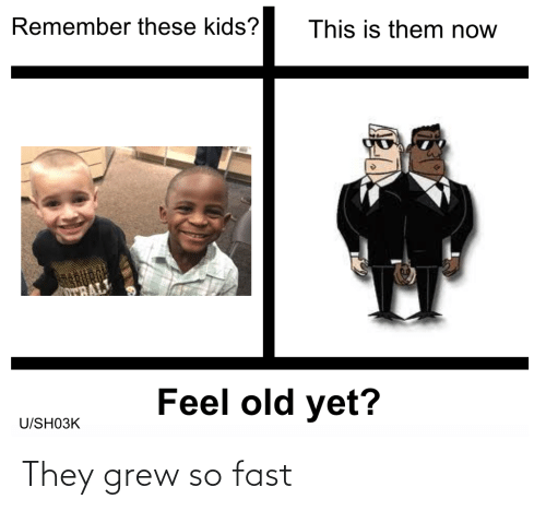 fast: They grew so fast