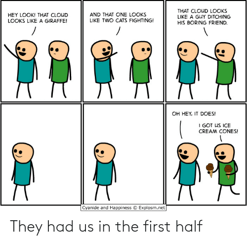 The First: They had us in the first half