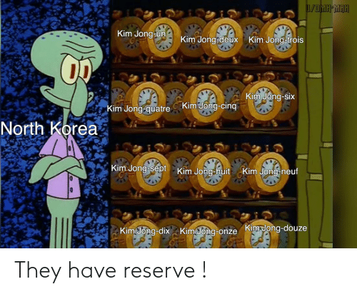 Reserve: They have reserve !
