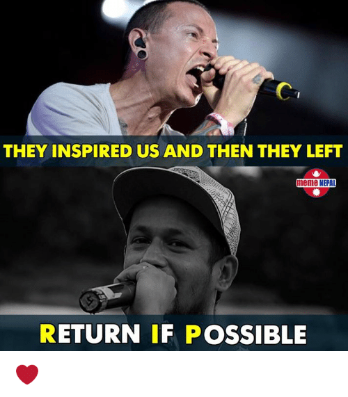 nepali: THEY INSPIRED US AND THEN THEY LEFT  meme NEPAD  RETURN IF POSSIBLE ❤️