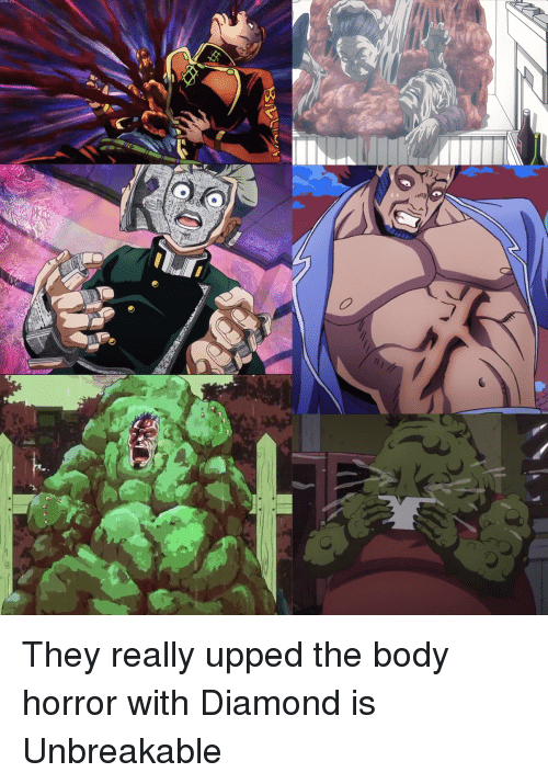 Diamond, Unbreakable, and Horror