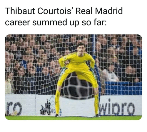 Summed Up: Thibaut Courtois' Real Madrid  career summed up so far.
