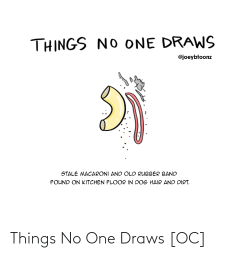 Draws: Things No One Draws [OC]