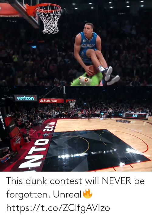 unreal: This dunk contest will NEVER be forgotten. Unreal🔥 https://t.co/ZClfgAVIzo