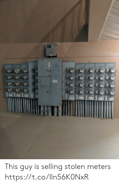 Faces-In-Things, Stolen, and This: This guy is selling stolen meters https://t.co/Iln56K0NxR