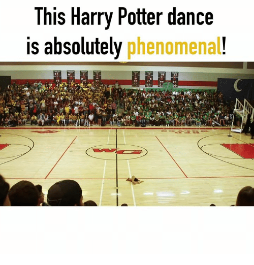 Harry Potter, Phenomenal, and Dance: This Harry Potter dance  is absolutely phenomenal!
