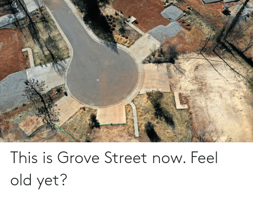 Feel Old Yet: This is Grove Street now. Feel old yet?