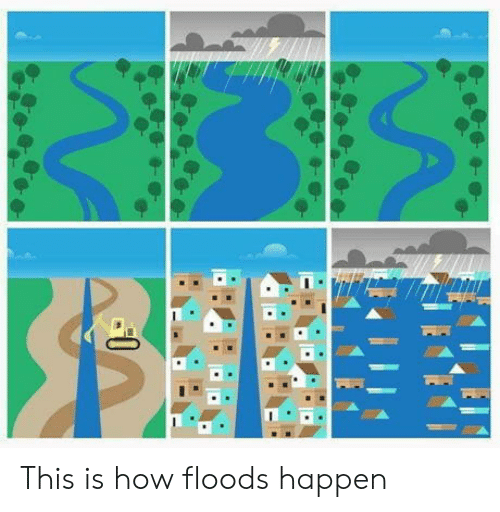 Floods: This is how floods happen