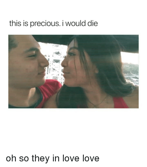 Love, Precious, and Girl Memes: this is precious. i would die oh so they in love love