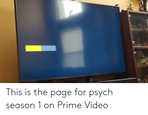 season 1: This is the page for psych season 1 on Prime Video