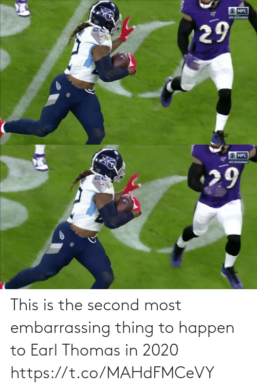 thomas: This is the second most embarrassing thing to happen to Earl Thomas in 2020 https://t.co/MAHdFMCeVY
