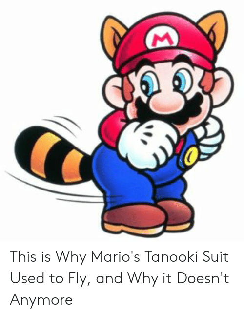 mario pictures: This is Why Mario's Tanooki Suit Used to Fly, and Why it Doesn't Anymore
