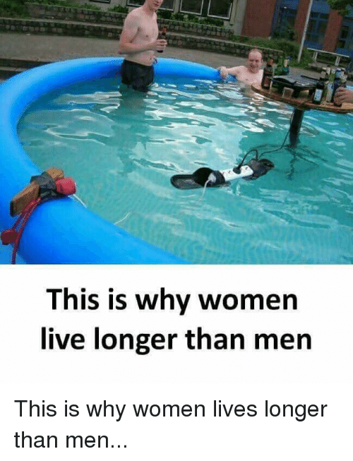 why do women live longer than men essay Evolutionary forces explain why women live longer than men date: may 10, 2006 source: university of michigan summary: despite research efforts to find modern factors that would explain the.
