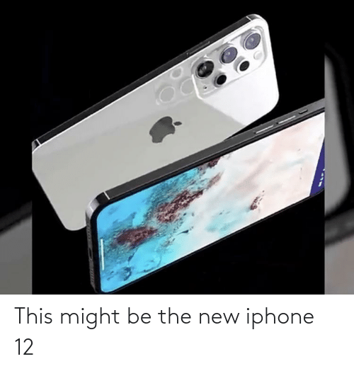 the new iphone: This might be the new iphone 12
