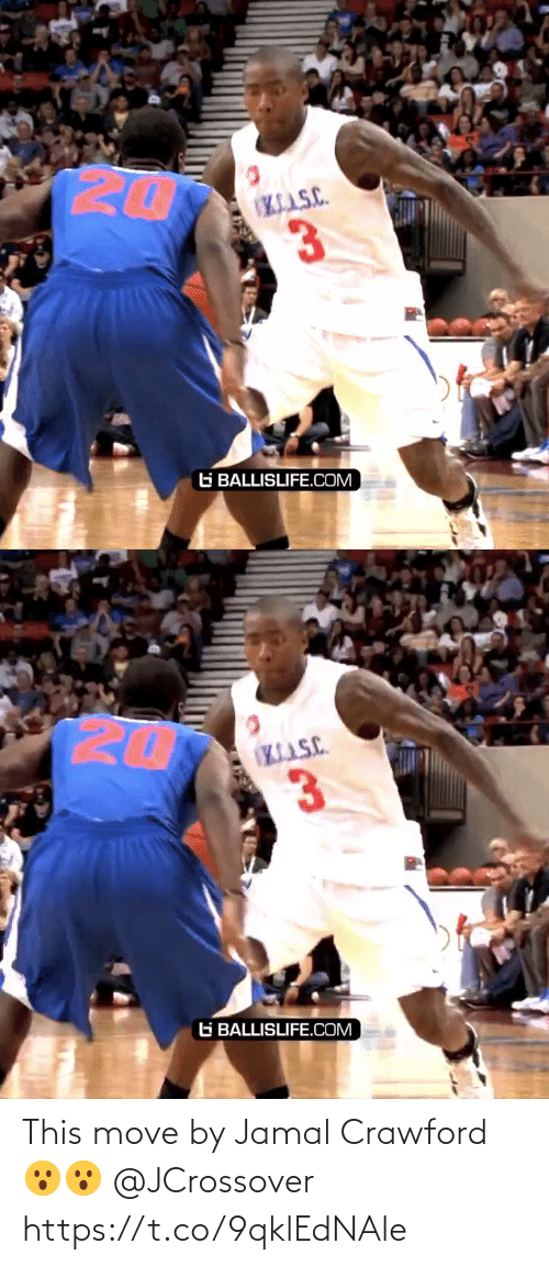 move: This move by Jamal Crawford 😮😮 @JCrossover https://t.co/9qklEdNAle