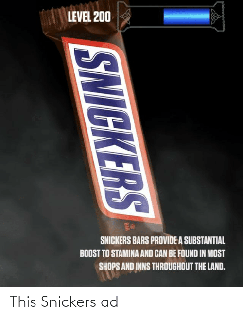 snickers: This Snickers ad