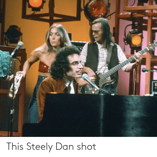 dan: This Steely Dan shot