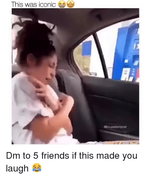 Friends, Memes, and Iconic: This was iconic Dm to 5 friends if this made you laugh 😂