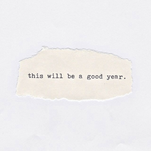 Good, A Good Year, and Will: this will be a good year.