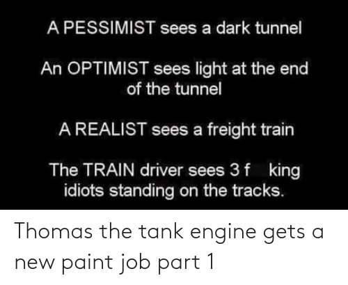 new: Thomas the tank engine gets a new paint job part 1