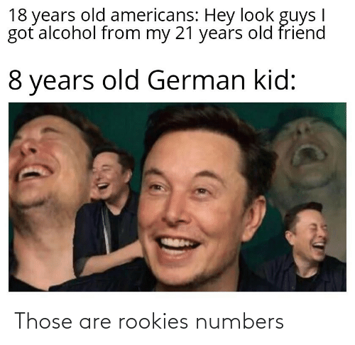 numbers: Those are rookies numbers