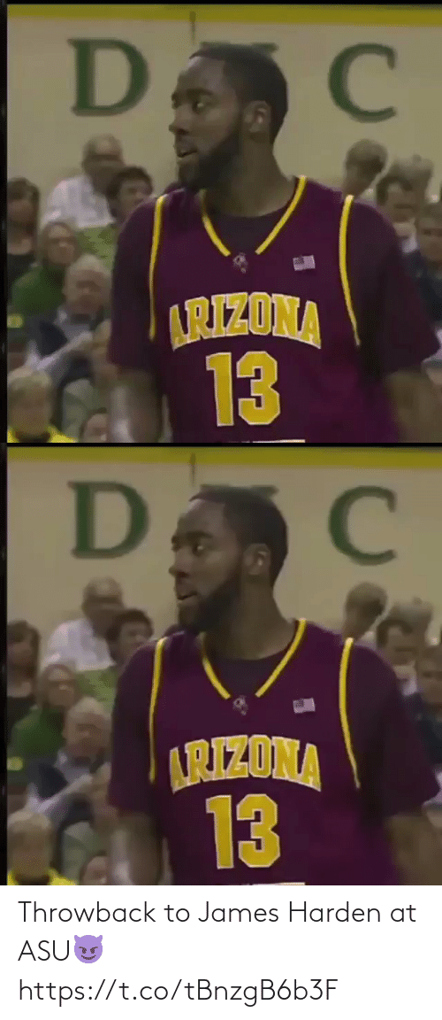 james: Throwback to James Harden at ASU😈  https://t.co/tBnzgB6b3F
