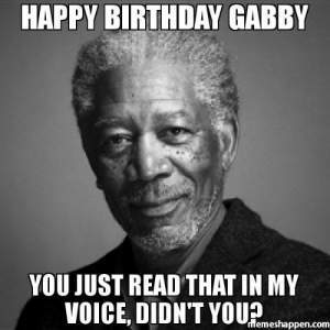 Birthday Gabby