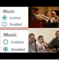 Enabled Disabled