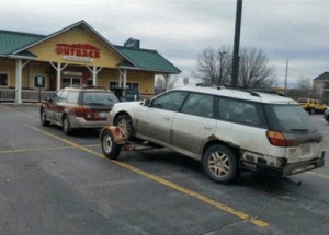 Outback Parked