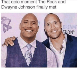 The Rock Finally